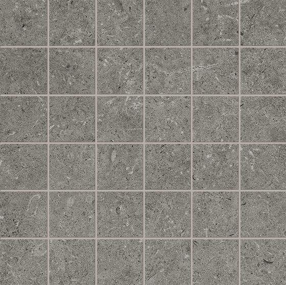 Epika Grey Mosaico de Ceramiche Supergres | Mosaicos de cerámica
