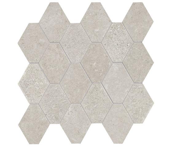 Epika Pearl Mosaico Losanga Dek de Ceramiche Supergres | Mosaicos de cerámica