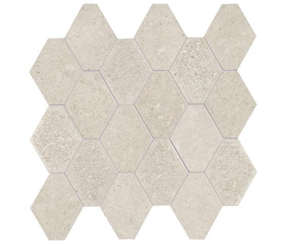 Epika Shell Mosaico Losanga Dek by Ceramiche Supergres | Ceramic mosaics