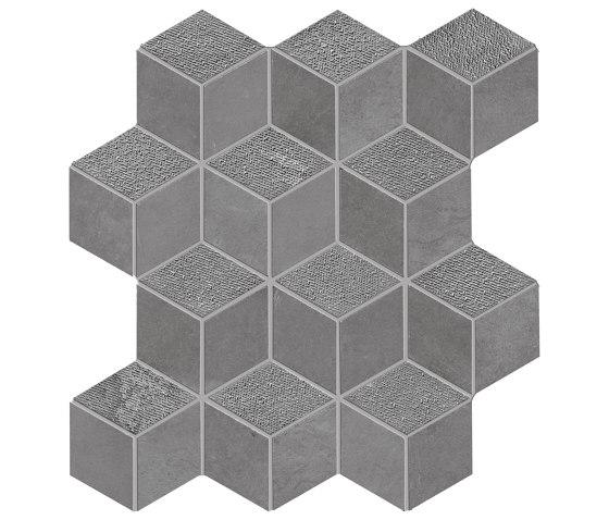 Met-All Mosaico Dado Dek Grey di Ceramiche Supergres | Mosaici ceramica