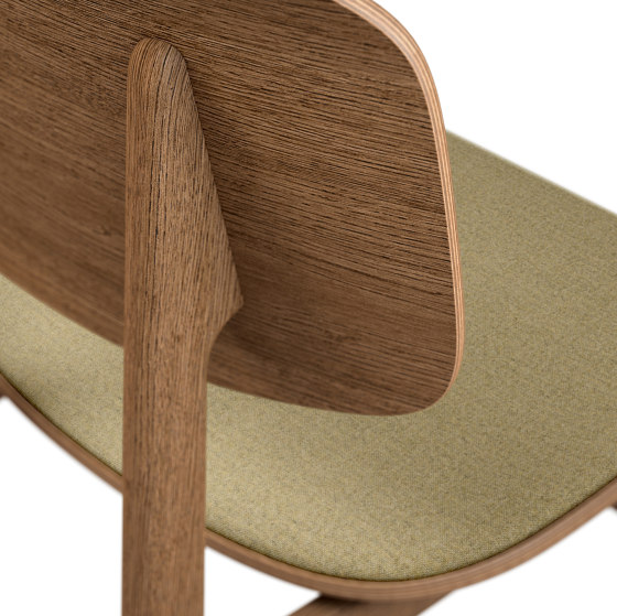 NY11 Dining Chair, Smoked - Nap Malange 0411 by NORR11 | Chairs