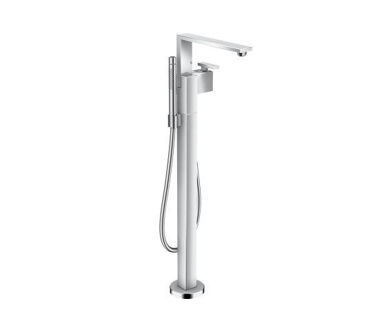AXOR Edge | Single lever bath mixer floor-standing - diamond cut by AXOR | Bath taps