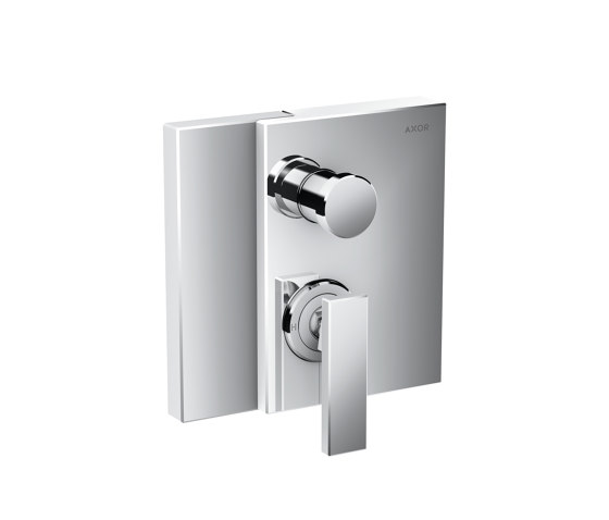 AXOR Edge | Single lever bath mixer for concealed installation with integrated security combination according to EN1717 by AXOR | Shower controls