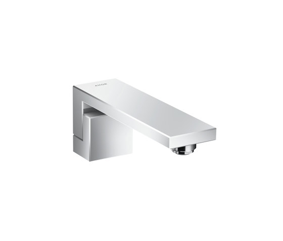 AXOR Edge | Bath spout by AXOR | Wash basin taps