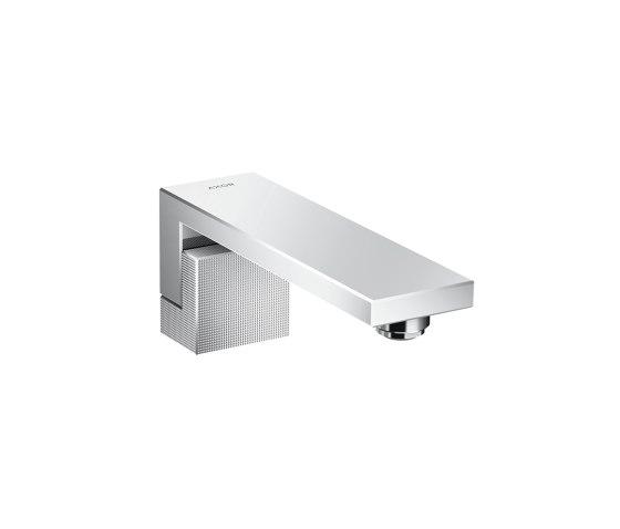 AXOR Edge | Bath spout - diamond cut by AXOR | Wash basin taps