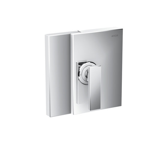 AXOR Edge | Single lever shower mixer for concealed installation by AXOR | Shower controls