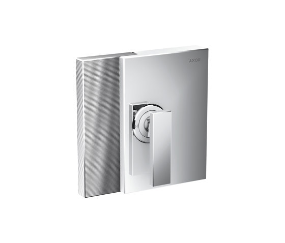 AXOR Edge   Single lever shower mixer for concealed installation - diamond cut by AXOR   Shower controls