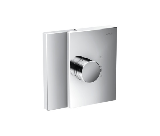 AXOR Edge | Thermostat highflow for concealed installation by AXOR | Shower controls