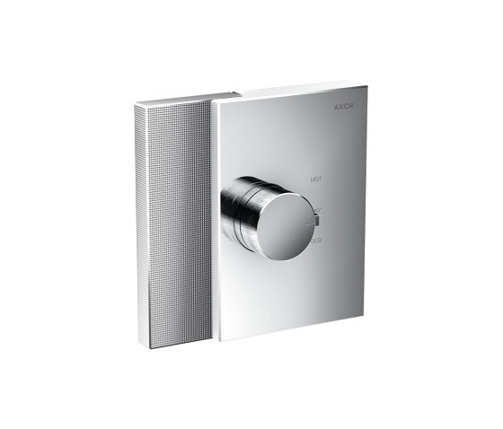 AXOR Edge | Thermostat highflow for concealed installation - diamond cut by AXOR | Shower controls