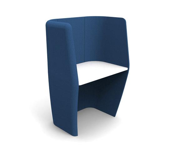 ATOM High Work Booth 1000mm W - 1 Person by Boss Design | Desks
