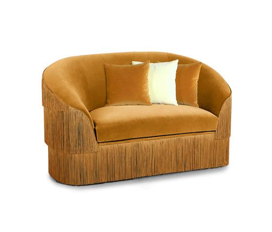 Fringes | Two Seat Sofa von MUNNA | Sofas