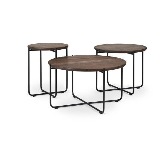 KONNO COFFEE- & SIDE TABLE ROUND VERSION de dk3 | Mesas auxiliares