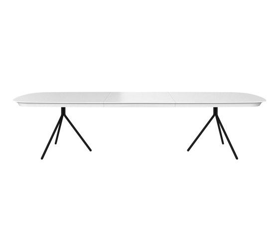 Ottawa table OV03 with supplementary tabletop de BoConcept | Mesas comedor