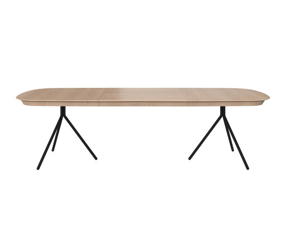 Ottawa Table OV04 with supplementary tabletop de BoConcept | Mesas comedor