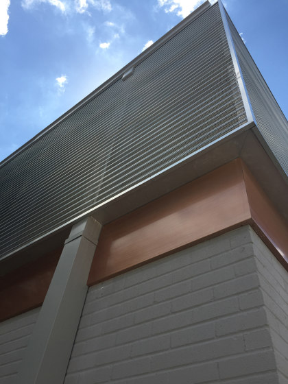 Exterior Applications - Corrugated Metal Wall by Moz Designs | Sheets