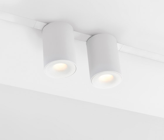 Pista Smart 48 Tubed Surface Track by Modular Lighting Instruments | Recessed ceiling lights