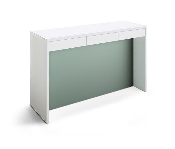 K-Modul Stand de werner works   Tables hautes