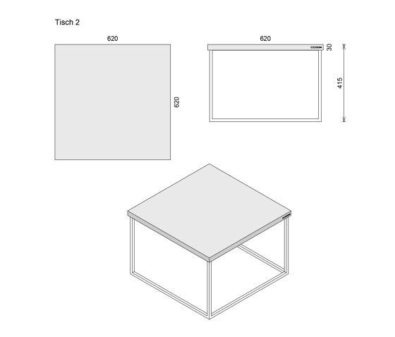 Tabula Duplex de CO33 by Gregor Uhlmann | Mesas auxiliares