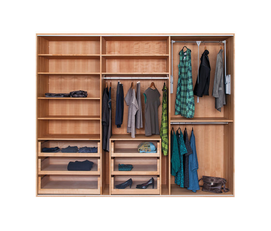 Wardrobe TreDue by reseda | Cabinets