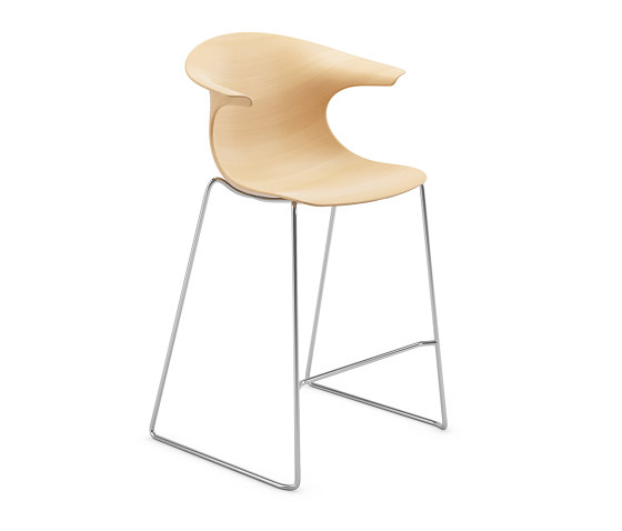 Loop 3D Wood by Infiniti   Bar stools