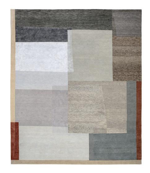 Rag Time - Colorfields von REUBER HENNING | Formatteppiche