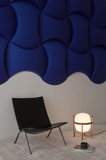 Sky Wall by Abstracta | Sound absorbing wall systems