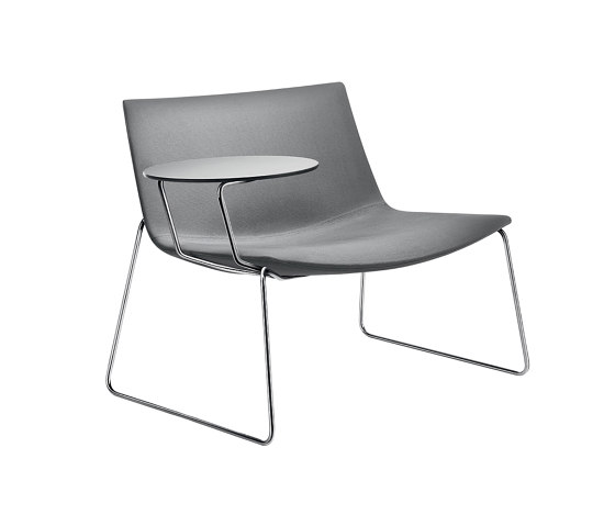 Catifa 80   Sled with Tablet by Arper   Armchairs