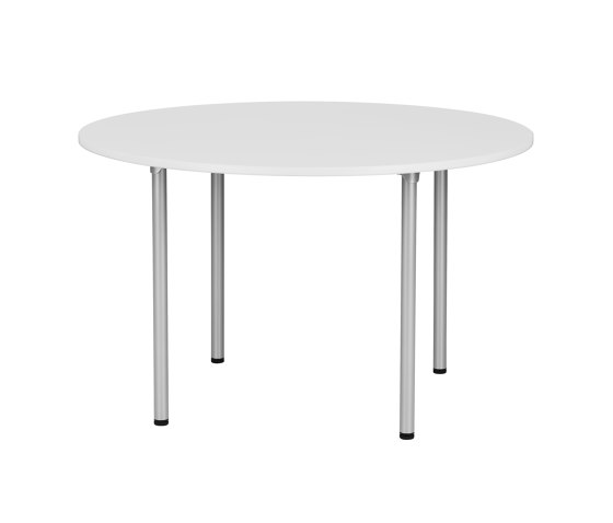 RBM Eminent Round White Pro by Flokk | Side tables