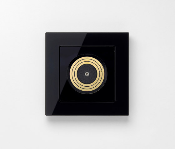 Plug & Light | A creation Ligtht socket black by JUNG | Sockets