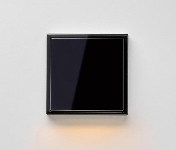 Plug & Light | LS 990 LED-Wall luminaire black by JUNG | Wall lights