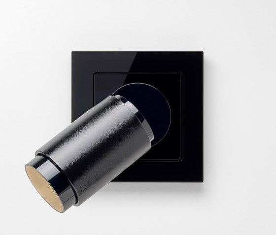 Plug & Light | A creation LED Spotlight black by JUNG | Wall lights