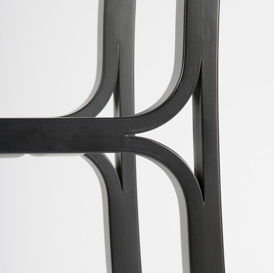 Gabi - Black Stained by Objekto | Chairs
