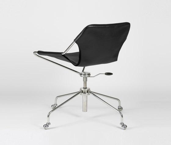 Paulistano OC - Inox/Black by Objekto | Chairs