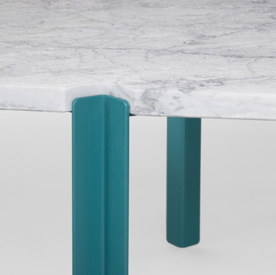 Quattro Cantoni - Brushed Marble/5021 by Objekto   Coffee tables