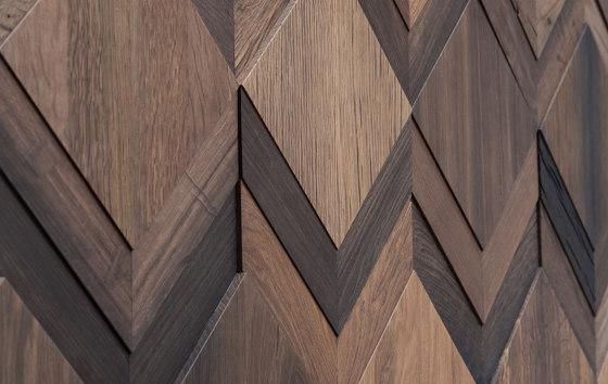 Clue by Wonderwall Studios | Wood panels