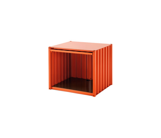 Container DS Small, red orange RAL 2001 by Magazin® | Storage boxes