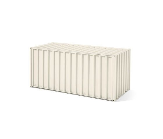 Container DS, pearl white RAL 1013 by Magazin® | Sideboards