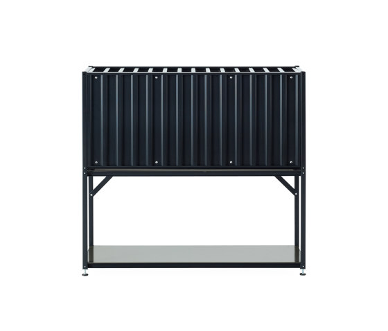 Shelf Element Tara, black grey by Magazin® | Shelving