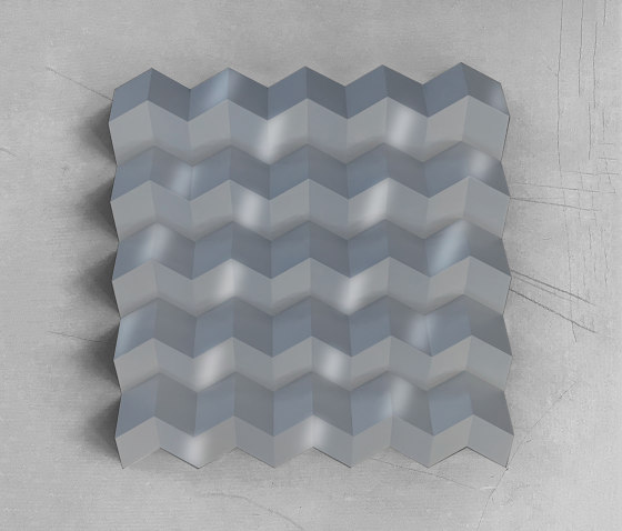 Foldwall 100 - RAL 9006 di Foldart | Pannelli per pareti