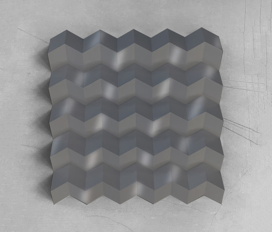 Foldwall 100 - RAL 9007 by Foldart   Wall panels