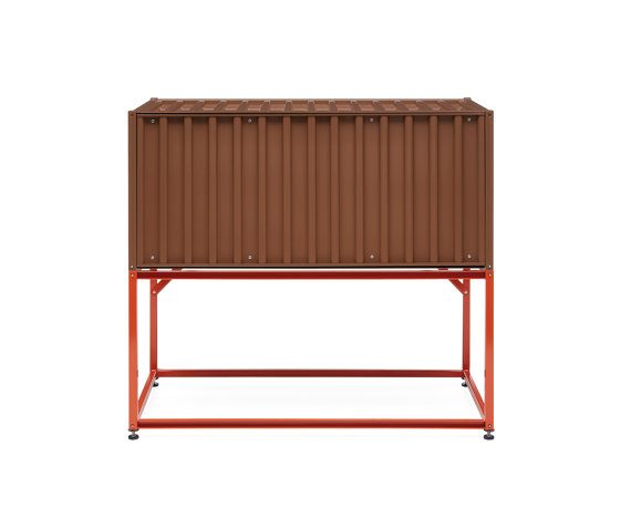 Container DS, pale brown RAL 8025 by Magazin® | Sideboards