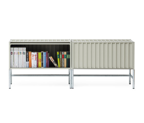 Container DS, pebble grey RAL 7032 by Magazin® | Sideboards