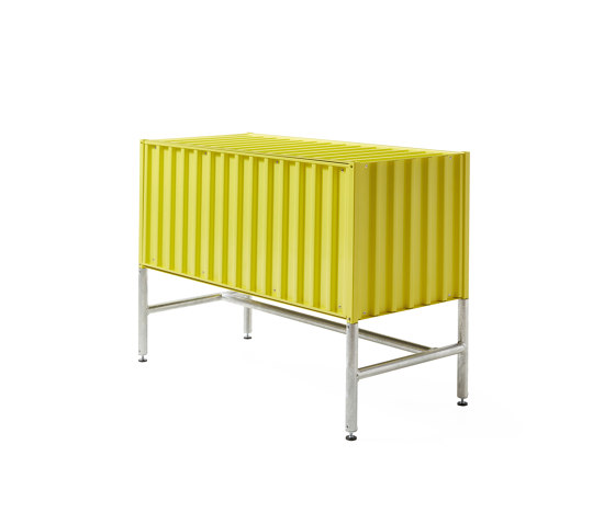 Container DS, sulfur yellow RAL 1016 by Magazin® | Sideboards