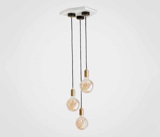 Voronoi I Brass Ceiling Light by Tala | Suspended lights