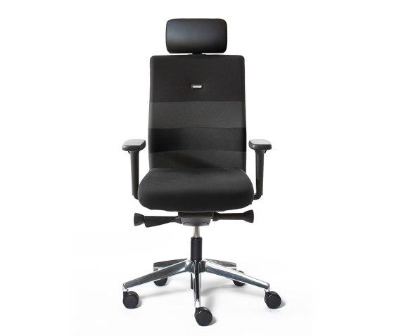 agilis | Office chair with headrest de lento | Sillas de oficina