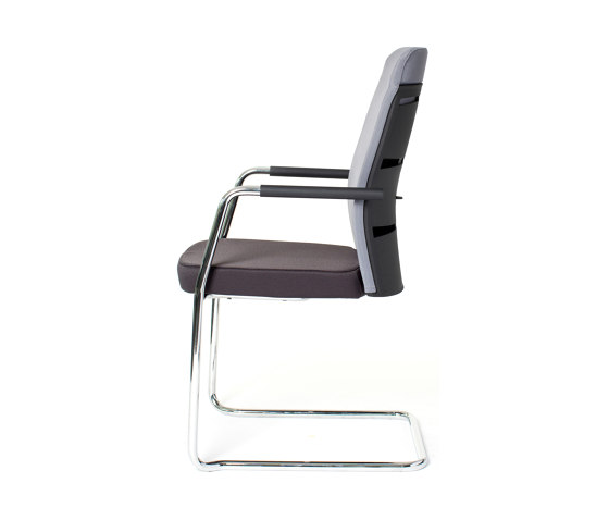 agilis matrix | Cantilever with integrated armrests by lento | Chairs
