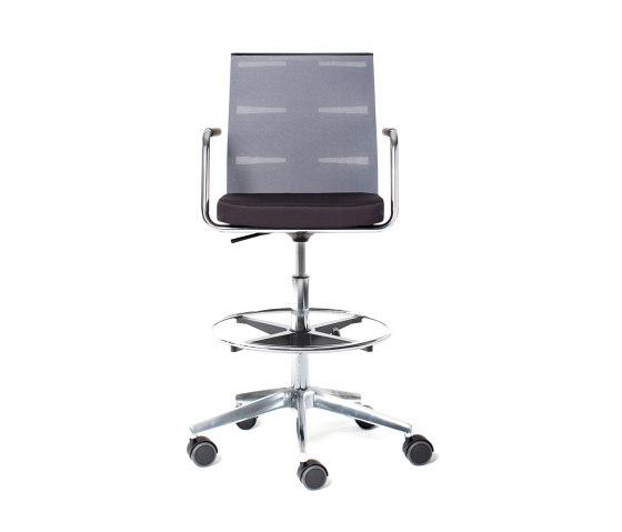 agilis matrix | Counter chair de lento | Sillas de trabajo altas