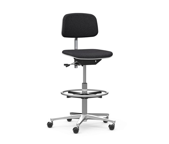1000 classic counter swivel chair by Dauphin   Counter stools