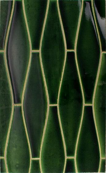Large Elongated Ogee Portland Field von Pratt & Larson Ceramics | Keramik Fliesen