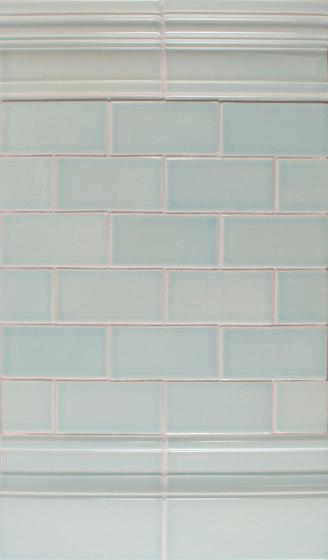 2x4 Portland Field Running Bond by Pratt & Larson Ceramics | Ceramic tiles